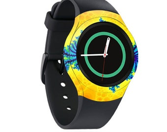 Skin Decal Wrap for Samsung Gear S2, S2 3G, Live, Neo S Smart Watch, Galaxy Gear Fit cover sticker Fractal Works