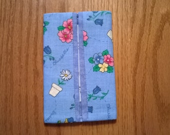 Garden Floral Pocket Tissue Holder