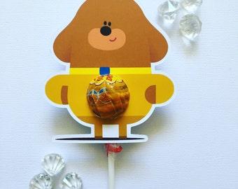 Hey Duggee lollipop holders