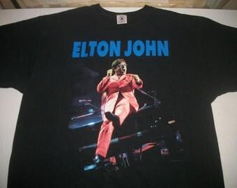 ELTON JOHN tour shirt 1993