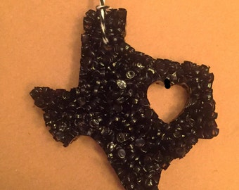 Hometown, Texas Car Air Freshener, heart of Texas, Aroma Beads, scented beads, air freshner