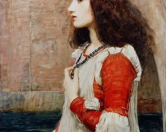 John William Waterhouse: Juliet. Fine Art Print/Poster. (003647)