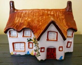 Antique Cottage Ware Potpourri Holder