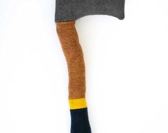 Lumberjack Baby: colored handles