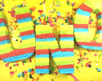 Pinata Letter, Fringe Letters, Weddings, Baby Showers, Bridal Showers, Fiesta Party Decoration, Cinco de Mayo, One Piñata