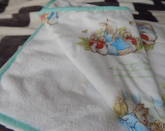 Peter Rabbit Blanket Etsy