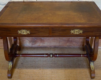 vintage french empire style hallway table office desk