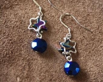CLEARANCE!! Celestial stars earrings
