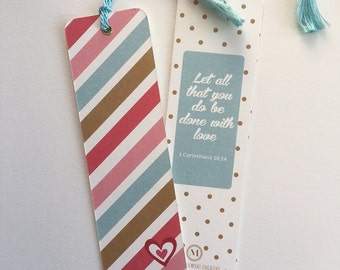 Done with Love Bookmark
