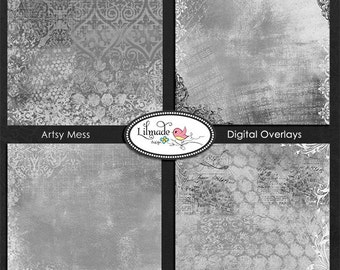 Photoshop overlay for photography and digital scrapbooking, vintage paper O323