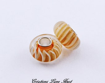 Choose 1, 3 or 5 Murano glass beads charm Européan style !