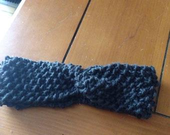 Knit Baby Headband, Baby earwarmer, headband, 3-6 month