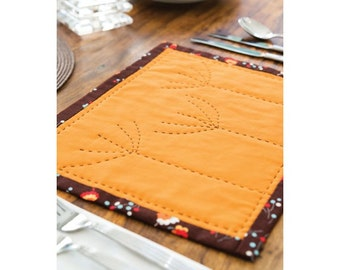 Simple Seedheads Table Mat Sewing Pattern Download 803138