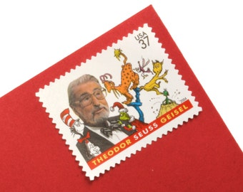 20 Dr. Seuss Stamps - 37c - Unused Postage - Quantity of 20
