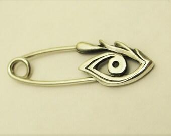 sterling silver pin eye 30 mm