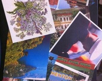 Postcard Collection, 50 Random Postcards, Collection of Postcards