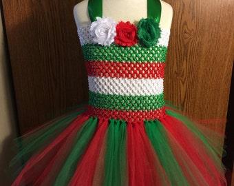 Christmas Dress - Christmas Tutu Dress - Toddler Christmas Dress - Toddler Christmas Tutu - Baby Christmas Dress - Baby Christmas Tutu