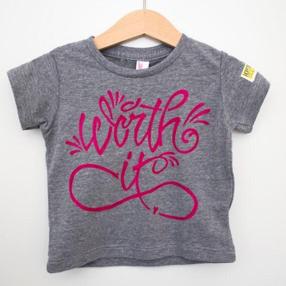 Infant tri blend gray // American Apparel brand // Worth it
