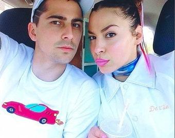 BAL EN BLANC. T-shirt car
