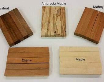 10pc Pen Turning Wood Blanks, Cherry Pen Blanks, Ambrosia Maple Pen Blanks, Walnut Pen Blanks, Mahogany Pen Blanks, Wood Turning Supplies