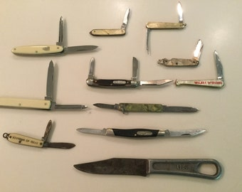 Small knives By various makers