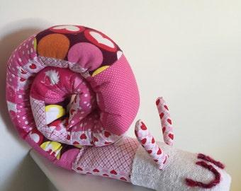 baby snail pillow