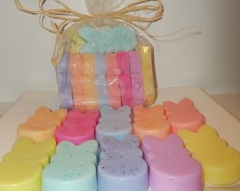 Marshmallow Peeps - Soap set of 10