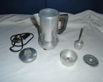 Vintage empire coffee percolator / Coffee percolator / electric percolator / coffee percolator