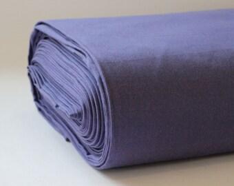 Organic  Crossweave Fabric 100% Cotton - Purple
