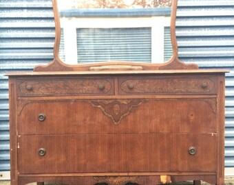 Vintage 1930's Dresser Vanity -Gorgeous!