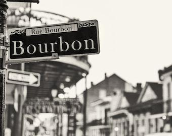 Bourbon Street, New Orleans (Photography)