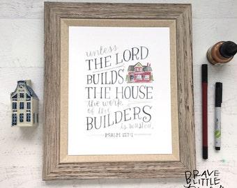 Psalm 127 Etsy