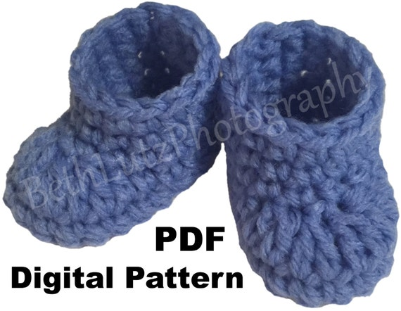 Crochet Mini Doll Pattern : Mini Crochet Baby Booties Pattern Doll Shoes Pattern
