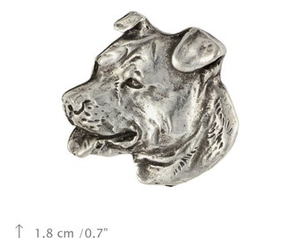 American Staffordshire Terrier, dog pin, limited edition, ArtDog
