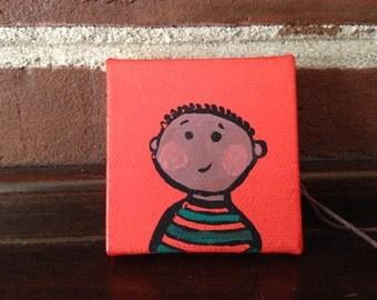Little Guy Tiny Magnet