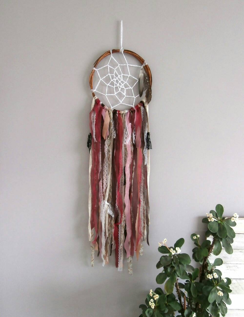 Boho Dream Catcher Bohemian Decor Rustic Boho By