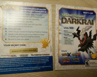 Darkrai Gamestop Download Code