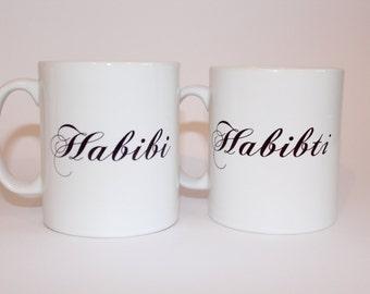 Habibi and Habibti Mug Set