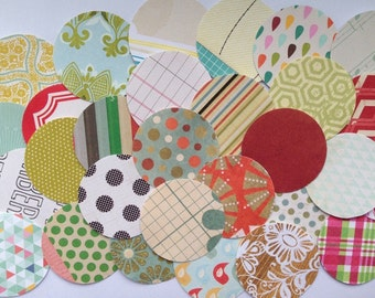 "Paper Circle 2"" Embellishment Pack 100"