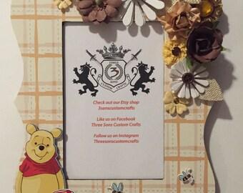 Custom Winnie the Pooh Frame
