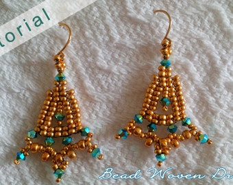 Maharani's Jewels Earring Tutorial