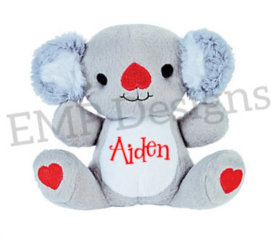 personalized valentine's day stuffed animals, Ideas