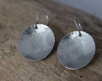 Everyday Earrings - Minimalist Jewelry - Simple Earrings - Silver Earrings - Dangle Earrings - Modern Earrings - Gift Idea for Her