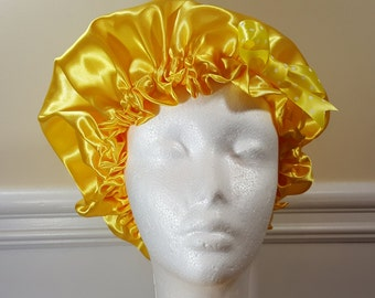Yellow Single Sided Bonnet