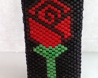 Rose Mini Bic Lighter Cover