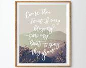 Come Thou Fount Print