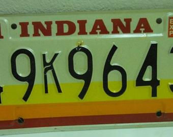Vintage 1981 Indiana License Plate