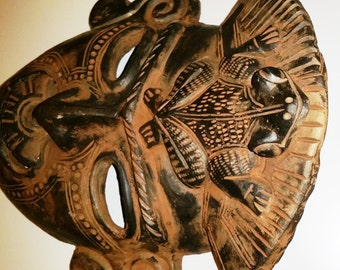 Ceramic Mask Décor