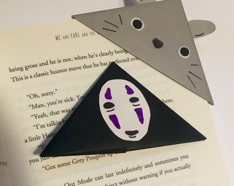 Studio Ghibli Origami Bookmarks
