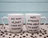 Personalized Mug - Gift For Him - Love Mug - Mens Gift - Quote Mug - Coffee Cup -Unique Coffee Mug - Valentine's Day Gift - Custom Quote Mug